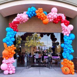 moon and blooms - balloon decor - custom balloons - california -21