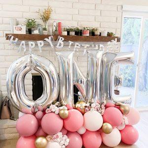 moon and blooms - balloon decor - custom balloons - california -27