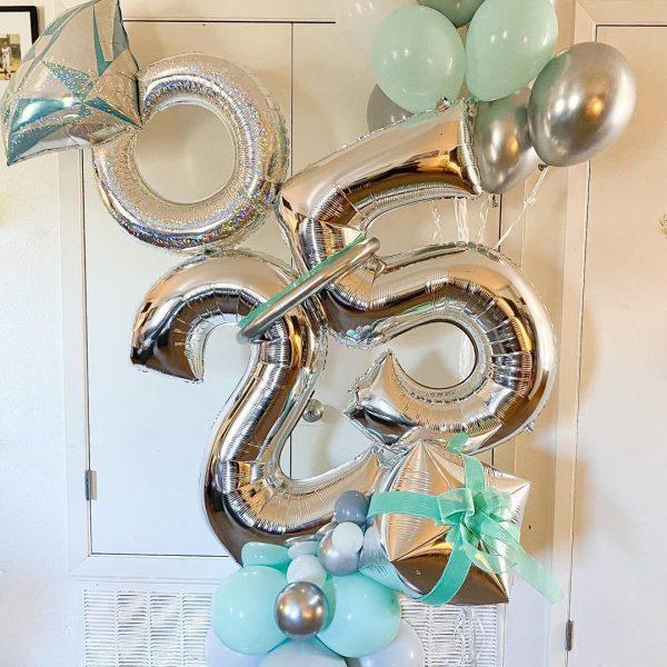 moon and blooms - balloon decor - custom balloons - california -28