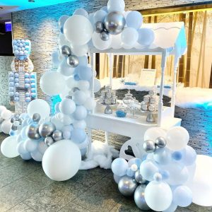Winterland Candy Cart
